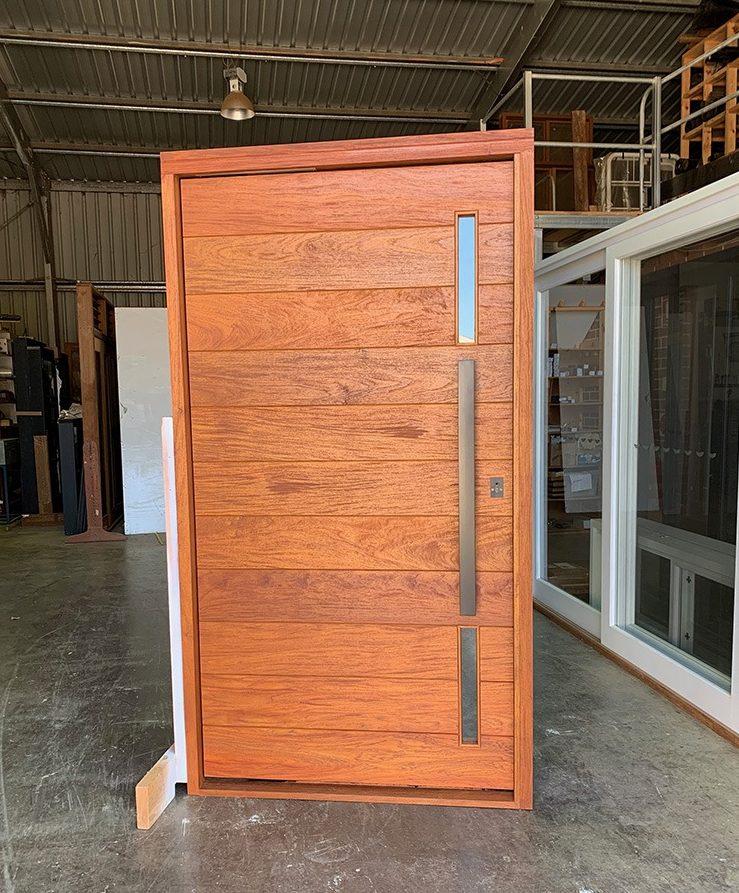 Teal Windows Entry Doors 0031